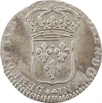 Louis XIV, quinzain aux huit L, 1693 La Rochelle