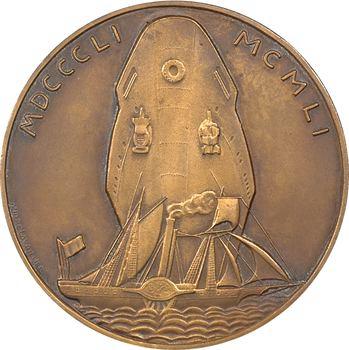Bateau : Compagnie des Messageries Maritimes, centenaire des services, par Lavrillier, 1851-1951 Paris