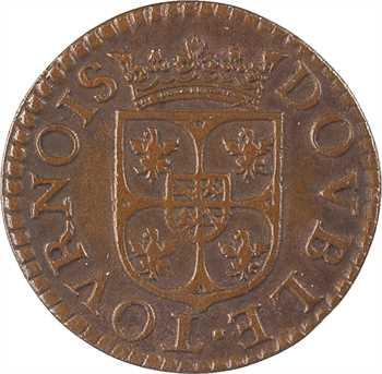 Charleville (principauté de), Charles Ier de Gonzague, double tournois 3e type, 1609 Charleville
