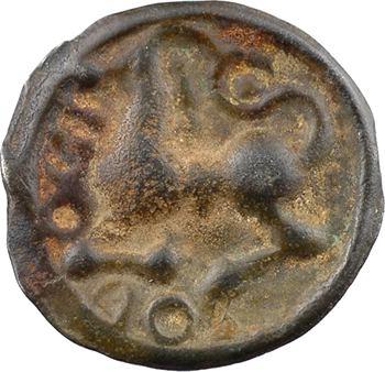 Séquanes, potin épigraphique DOCI, classe II, c.60-50 av. J.-C.