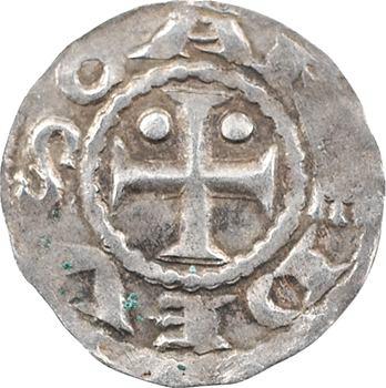 Savoie (duché de), Amédée III, denier 1er type, s.d. Suse