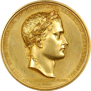 Retour des cendres, Napoléon Ier aux Invalides, pour Pourrat frères, (1844)