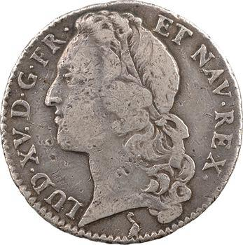Louis XV, demi-écu au bandeau, 1764 La Rochelle