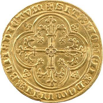 Flandres, Philippe le Hardi, double heaume d'or, s.d. (1386-1387) Gand