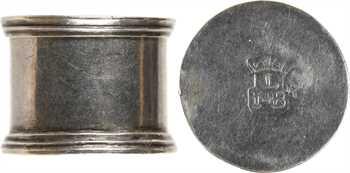 Louis XIV (?), treizain de mariage, boîte en argent et six deniers, s.d