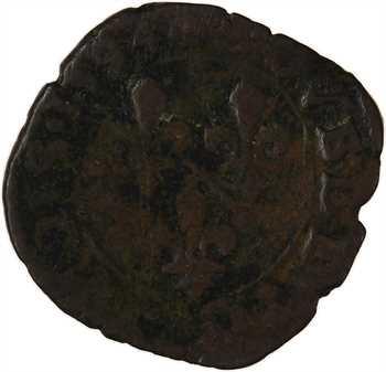 Dombes (principauté de), Henri II de Bourbon-Montpensier, double tournois 4e type, 1594 Trévoux