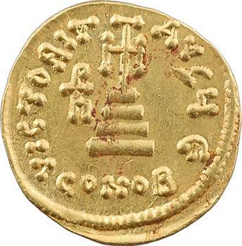Héraclius, Héraclius Constantin et Héraclonas, solidus, Constantinople, 5e officine, 638-641