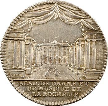 La Rochelle, académie de drame et de musique, 1766