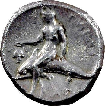 Calabre, Tarente, didrachme, 302-280 av. J.-C.