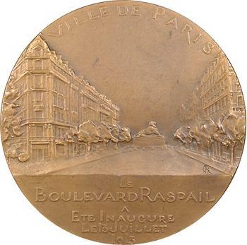 Grégoire (R.) : inauguration du boulevard Raspail, 1913 Paris