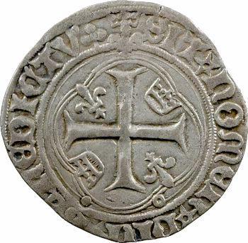 Louis XII, grand blanc à la couronne, Lyon