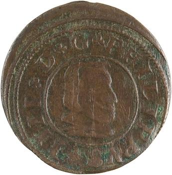 Espagne, Philippe IV, 16 maravedis, 1662 Segovie