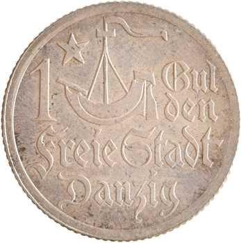 Allemagne, Dantzig (ville libre de), florin (gulden), 1923 Berlin PROOFLIKE