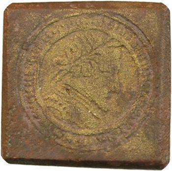 Poids monétaire, Henri IV, demi-teston, s.d. Paris
