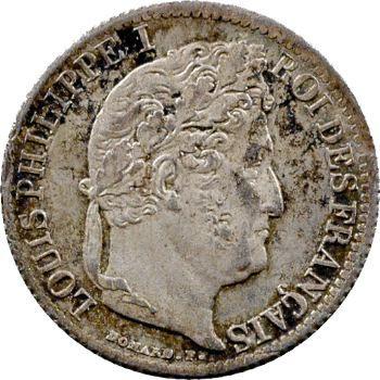 Louis-Philippe Ier, 1/2 franc, 1833 Paris