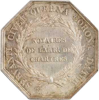 IIIe République, Chambre des notaires de l'arrondissement de Chartres, 1836 (post.) Paris