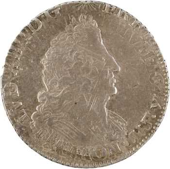 Louis XIV, quart d'écu aux palmes, 1694 Lille