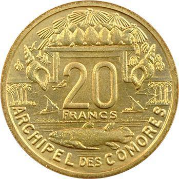 Comores, essai de 20 francs, 1964 Paris