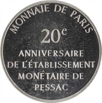 Ve République, module de 100 francs, anniversaire de Pessac, 1973 Paris
