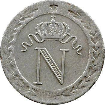 Premier Empire, 10 centimes à l'N couronnée, 1808 Paris