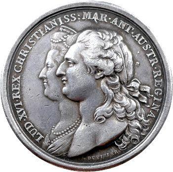 Louis XVI, naissance du Dauphin, par Duvivier, 1781 Paris