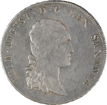 Allemagne, Saxe, Frédéric-Auguste Ier, thaler, 1808 Dresde