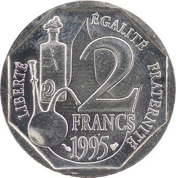 Ve République, essai de 2 francs Pasteur, 1995 Pessac