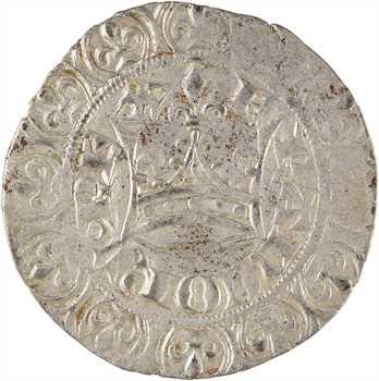 Jean II le Bon, gros blanc à la couronne