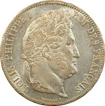 Louis-Philippe Ier, 5 francs IIe type Domard, 1835 Paris