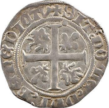 Bourgogne (duché de), Jean sans Peur, grand blanc, s.d. Auxonne