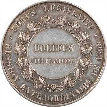 Second Empire, Corps législatif de 1869, Camille Dollfus (Lot et Garonne), 1869 Paris