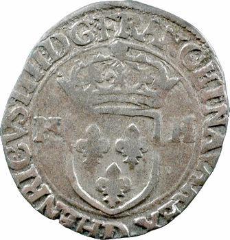 Henri IV, douzain aux 2 H, 1er type, 1594 Lyon