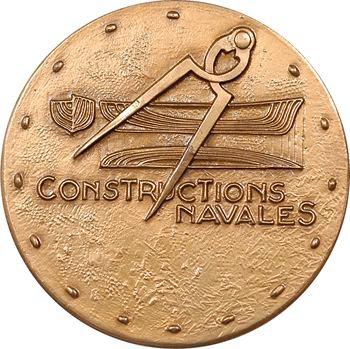 Ve République, Constructions Navales, hommage à Danaos, par Guiraud, 1974 Paris