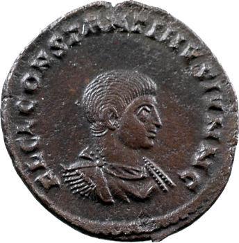 Constantin II, nummus, Trèves, 317