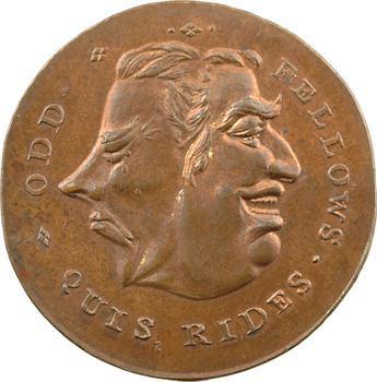 Royaume-Uni, halfpenny token, Spence's, s.d. (XVIIIe) Londres