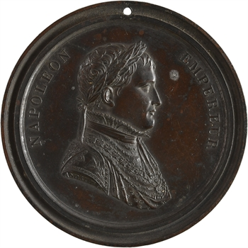 Premier Empire, proclamation de l'Empereur, cliché uniface par Andrieu, c. 1804