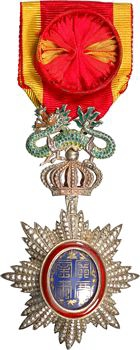 Annam (empire d'), Ordre du Dragon, insigne d'Officier