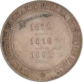 IIIe République, les agents de change de Paris, par Borrel, 1875 Paris