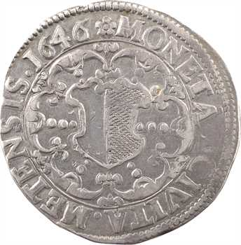 Metz (Ville de), thaler au Saint Étienne, 1646 Metz