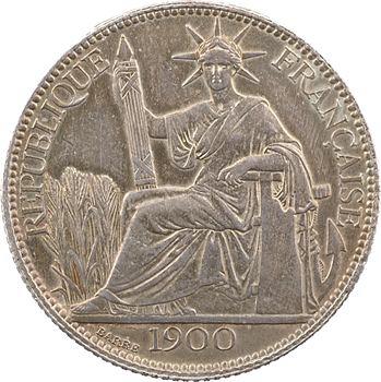 Indochine, 20 centièmes, 1900 Paris