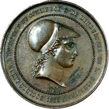 Seine-Inférieure, Société du commerce, 1855