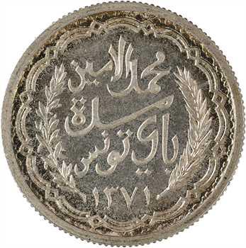 Tunisie (Protectorat français), Mohamed Lamine, 10 francs, 1951 Paris