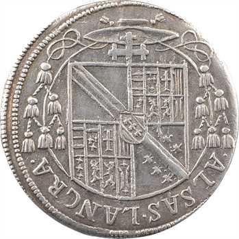 Alsace, Strasbourg (évêché de), Charles de Lorraine, teston ou tiers de thaler (MET.S)