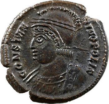 Constantinopolis, nummus, Trèves, 333-334