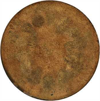 Louis-Philippe Ier, essai uniface de revers, refonte des monnaies de cuivre, 1846 Paris