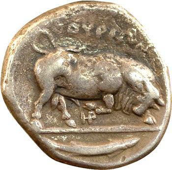 Lucanie, didrachme, Thurium, c.400-350 av. J.-C.