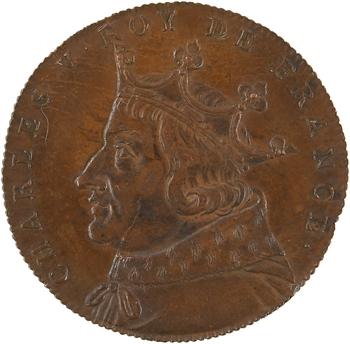 Charles V, Série des Rois de France, n° 52, s.d. Paris