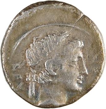 Maurétanie, Juba II, denier, Caesarea, 25 av. J.-C.-23 ap