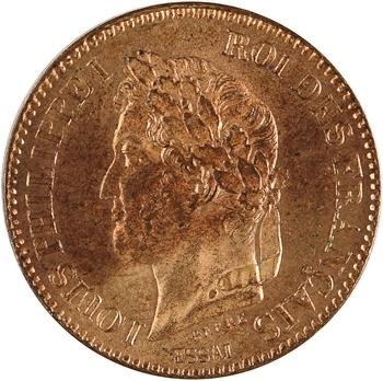 Louis-Philippe Ier, essai de 2 centimes, 1847 Paris