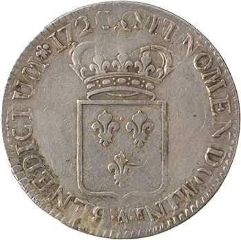Louis XV, écu de France, 1720 Paris